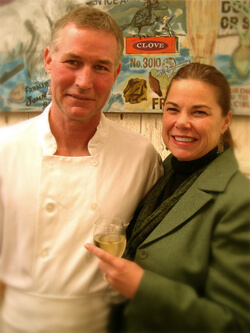 Mark Davis and Julie Vivolo Davis of Vivolo's Chowder House